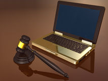 Law and technology Stock Photos
