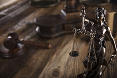 Law theme. Royalty Free Stock Image