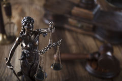 Law theme. Royalty Free Stock Images