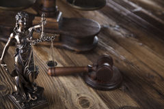 Law theme. Stock Images