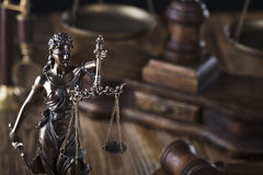 Law theme. Stock Photography