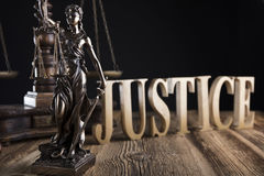 Law theme. Royalty Free Stock Photography