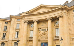 Law University in Paris Royalty Free Stock Photo