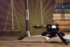 Law wooden gavel barrister, justice concept, legal system concept. Law wooden gavel barrister, justice concept, legal system royalty free stock photography