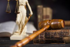 Law wooden gavel barrister, justice concept, legal system concept. Law wooden gavel barrister, justice concept, legal system stock photo