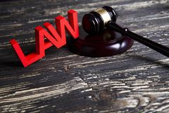 Law wooden gavel barrister, justice concept, legal system concept. Law wooden gavel barrister, justice concept, legal system royalty free stock images