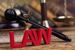 Law wooden gavel barrister, justice concept, legal system concept. Law wooden gavel barrister, justice concept, legal system stock images