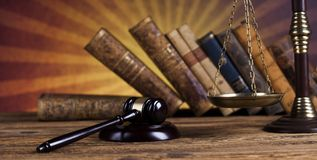 Law wooden gavel barrister, justice concept, legal system concept. Law wooden gavel barrister, justice concept, legal system royalty free stock photo