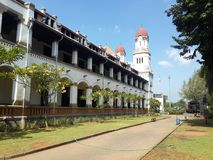 Lawang Sewu, замок тысячи дверей Стоковая Фотография