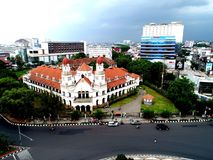 Lawang Sewu. Ancient building in semarang central ja a Stock Images