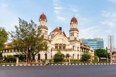 Lawang Sewu budynek w Semarang, Środkowy Jawa, Indonezja Obrazy Royalty Free