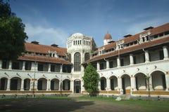 Lawang Sewu que construye Semarang Imagenes de archivo