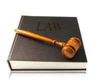 Lawbook and gavel