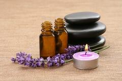 lawenda aromatherapy Zdjęcia Stock