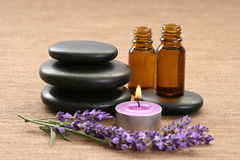 lawenda aromatherapy Zdjęcie Royalty Free