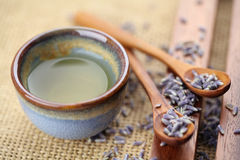 lawendowa herbata obraz royalty free