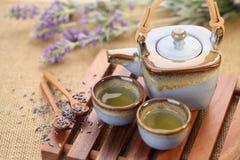 lawendowa herbata fotografia royalty free