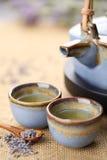 lawendowa herbata zdjęcie stock