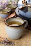 lawendowa herbata obrazy royalty free