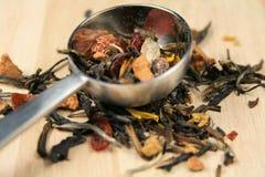lawendowa luźna herbata Zdjęcie Royalty Free