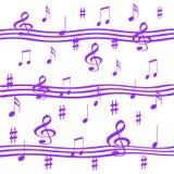 lawendowa muzyki Fotografia Stock