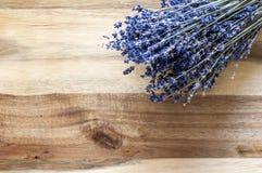 Lawendowy Drewniany tło Zdjęcie Royalty Free