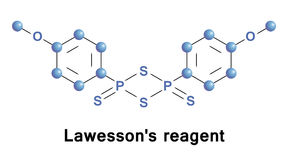 Lawessons reagent is a chemical Stock Image