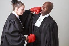 Lawful combat Stock Images