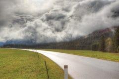 Lawina chmury Obrazy Royalty Free