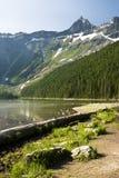 lawinowy jezioro Zdjęcie Stock