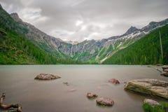 lawinowy jezioro Obrazy Stock