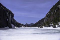 Lawinowy jezioro zdjęcia stock