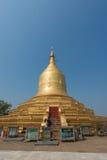 Lawka Nanda Pagoda i Bagan, Myanmar arkivfoto
