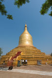 Lawka Nanda Pagoda i Bagan, Myanmar royaltyfria bilder
