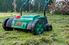 Lawn Aerator Royalty Free Stock Photography