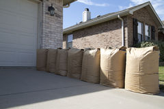 Lawn bags Royalty Free Stock Photo