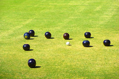 Lawn Bowling Stock Photography