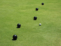 Lawn Bowls Stock Photos