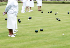 Lawn bowls Royalty Free Stock Photos