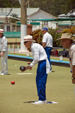 Lawn Bowls Club stock photo