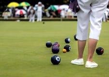 Free Lawn Bowls Match Stock Photo - 43216810