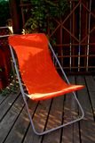 Lawn chair Royalty Free Stock Images