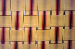 Lawn Chair Detail. Lawn Chair Close-Up stock image