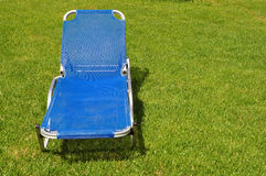 Lawn chair Royalty Free Stock Photography