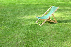 Lawn chair Stock Photo