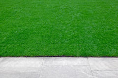 Lawn edge Stock Photography