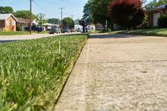 Lawn Edging Stock Photography