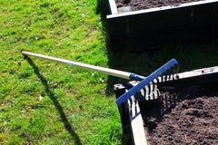 Lawn garden tool Stock Image