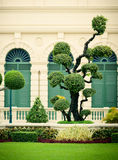 Lawn in Grand Palace Stock Images