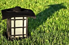 Lawn Lantern Stock Photography